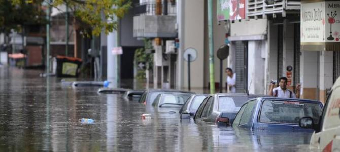 The Heavy Storm hits Buenos Aires, Argentina