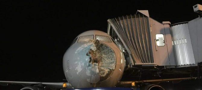 American Airlines Plane Make Emergency Landing In El Paso