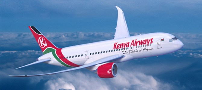 Kenya Airways increases Mauritius Flights from Nov 2018