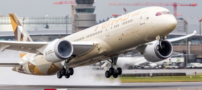 Etihad Airways Starts its services To Lagos with 787-9 Dreamliner