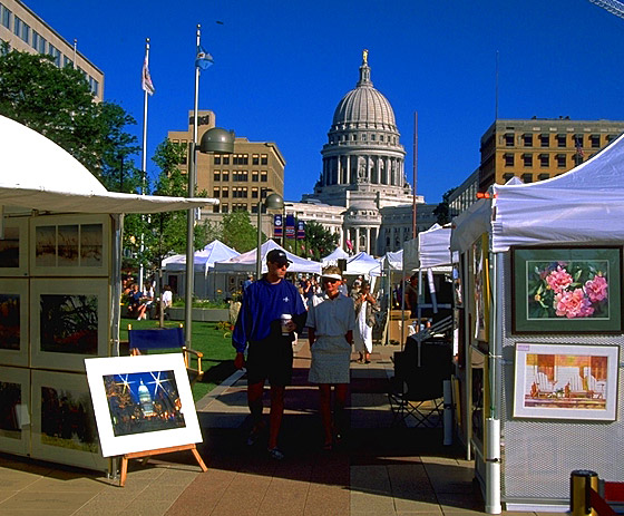 Art Fair on the Square, Madison