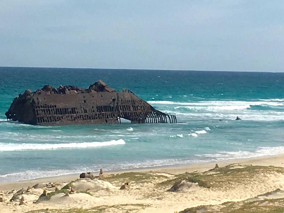 The Spanish Cargo ship Cabo Santa Maria