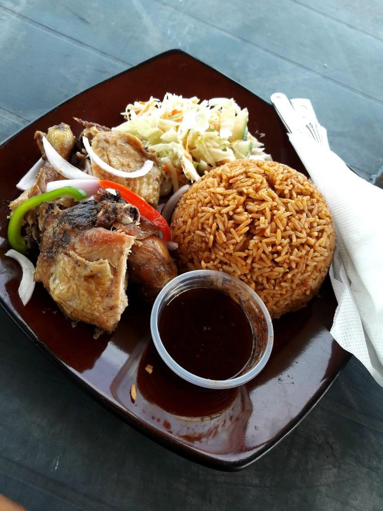 Ghana Jollof rice