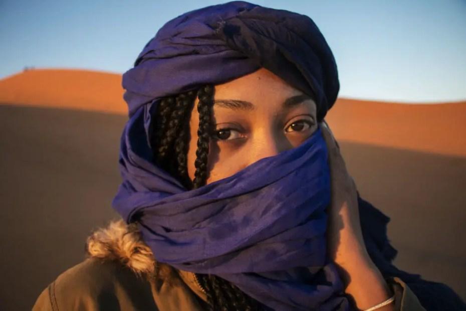Morocco Sahara desert nomad