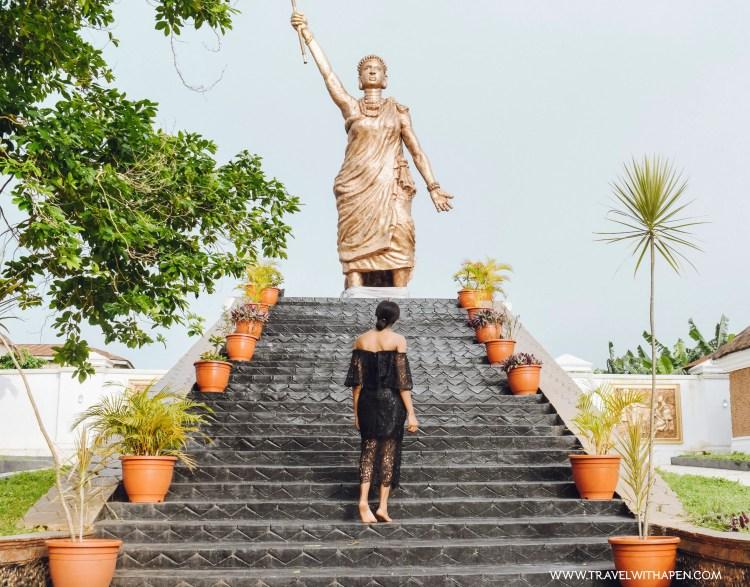Moremi Statue Ife