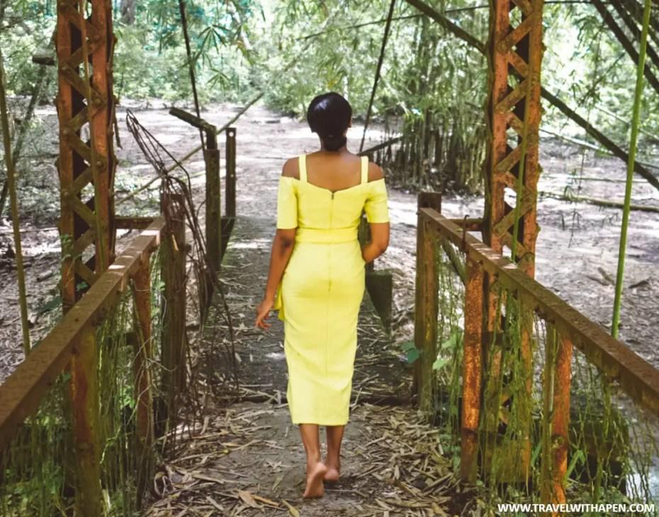 Osun Osogbo Grove Bridge