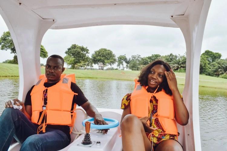 Lakowe Lakes Paddle Boats