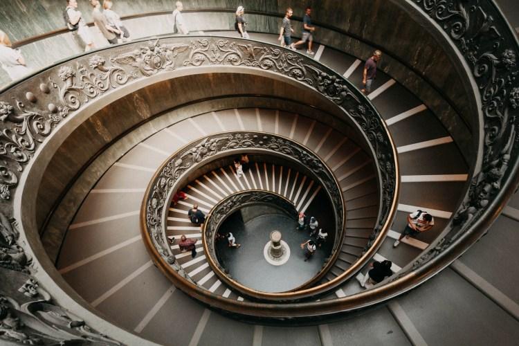 Sistine chapel stairs
