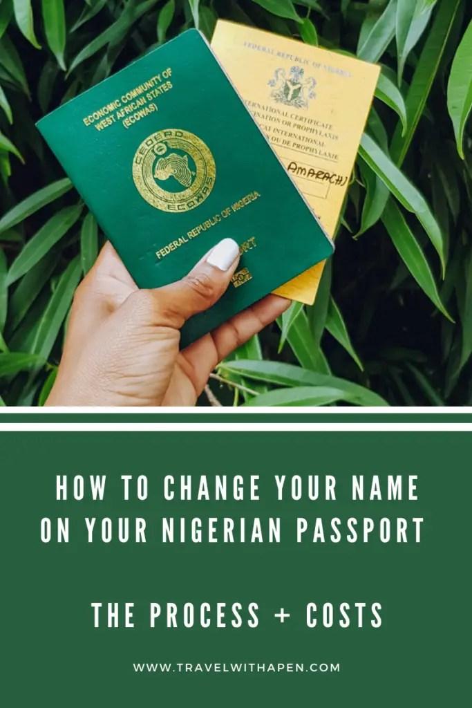 Nigerian Passport Renewal
