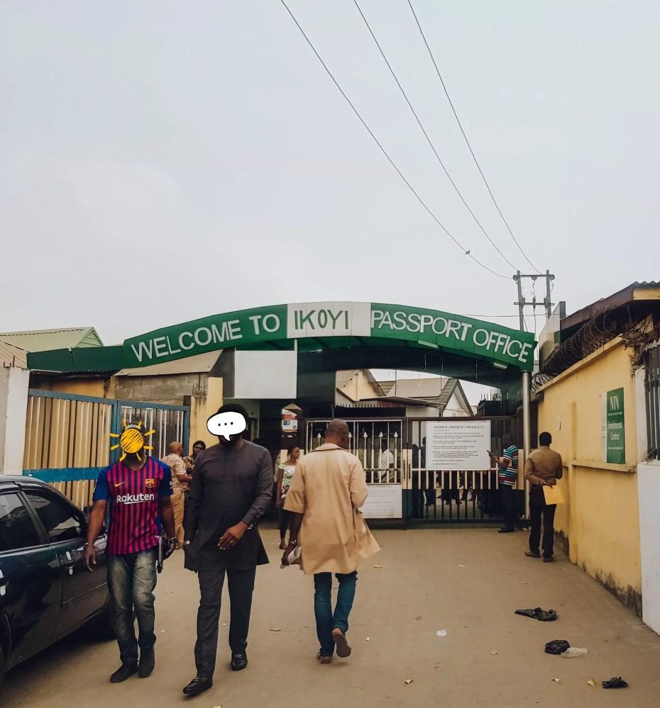 Ikoyi Passport Office Nigerian Passport name change after marriage