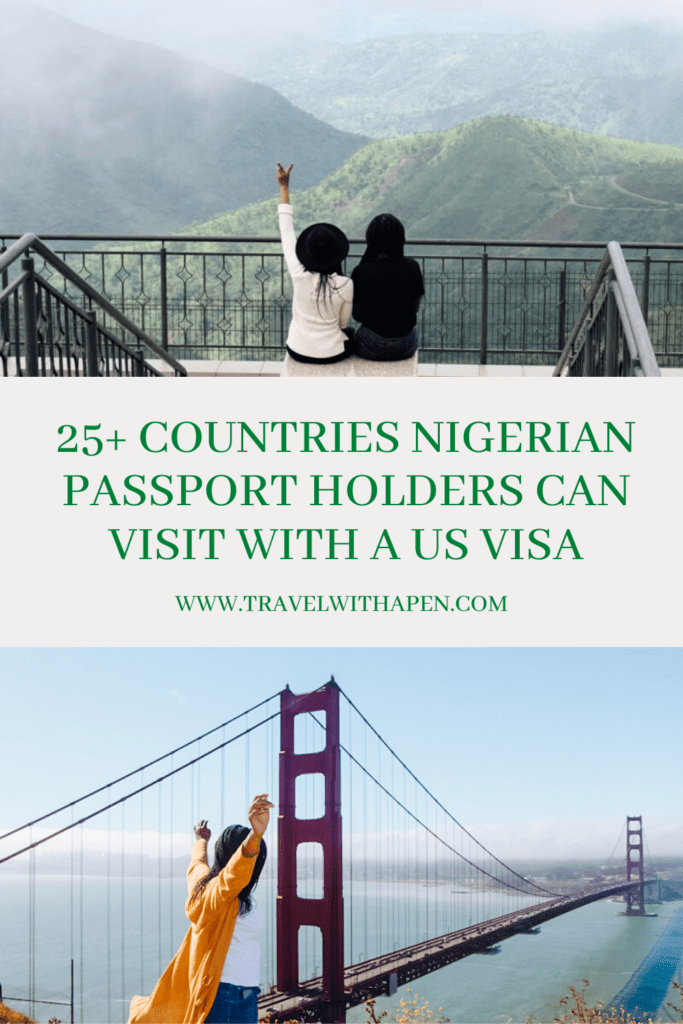 countries you can visit with a valid us visa