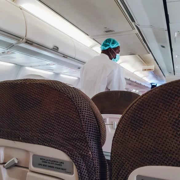 Kenya Airways Flight