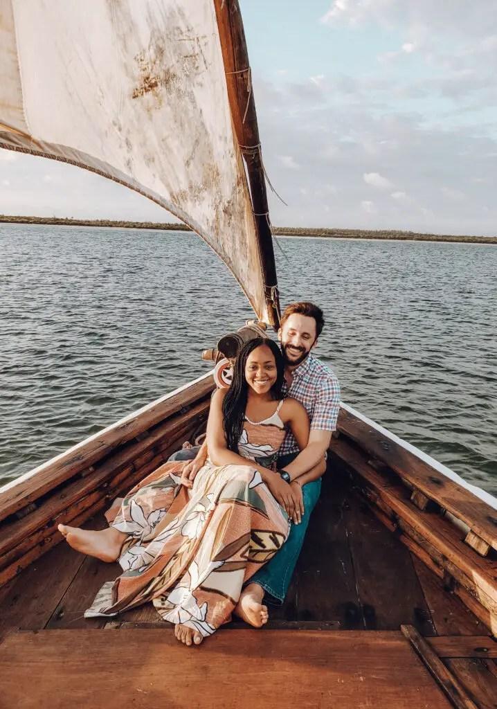 Sailing on Mida Creek