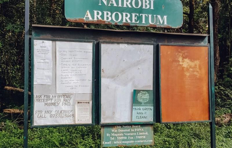 Nairobi Arboretum Images