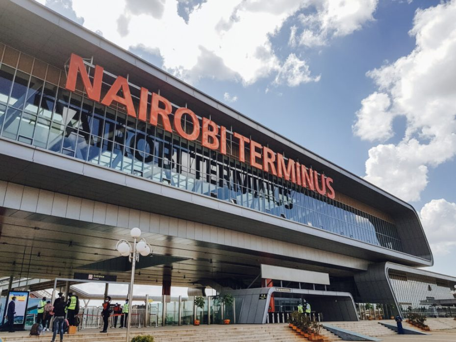 Nairobi Terminus SGR Nairobi to Mombasa