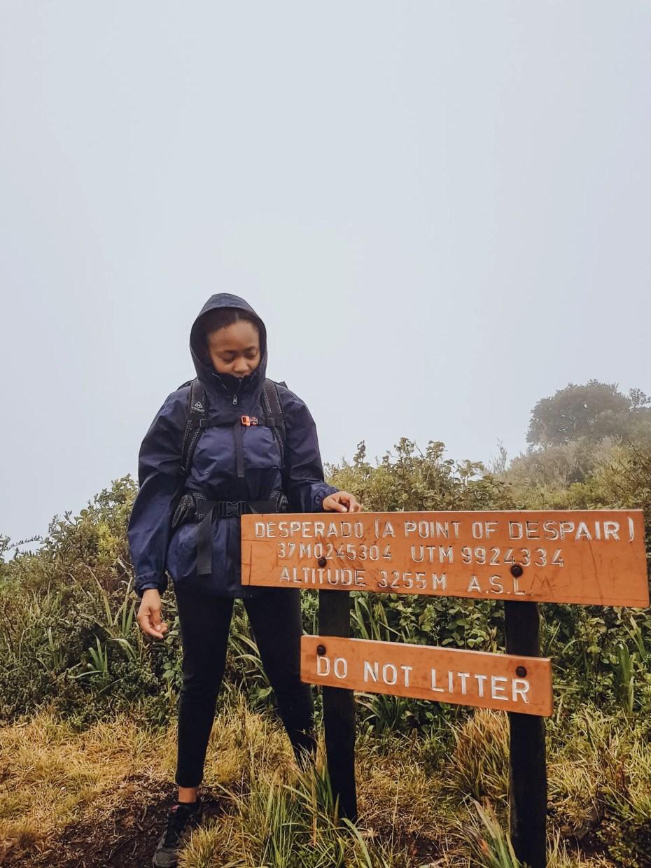Point of Despair Elephant Hill