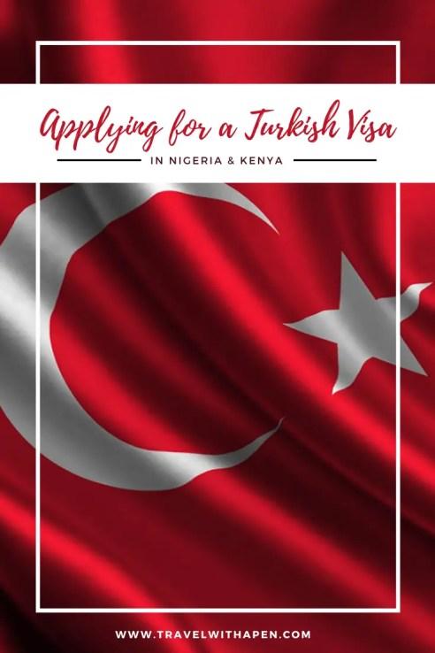 Turkey Visa Application from Kenya and Nigeria