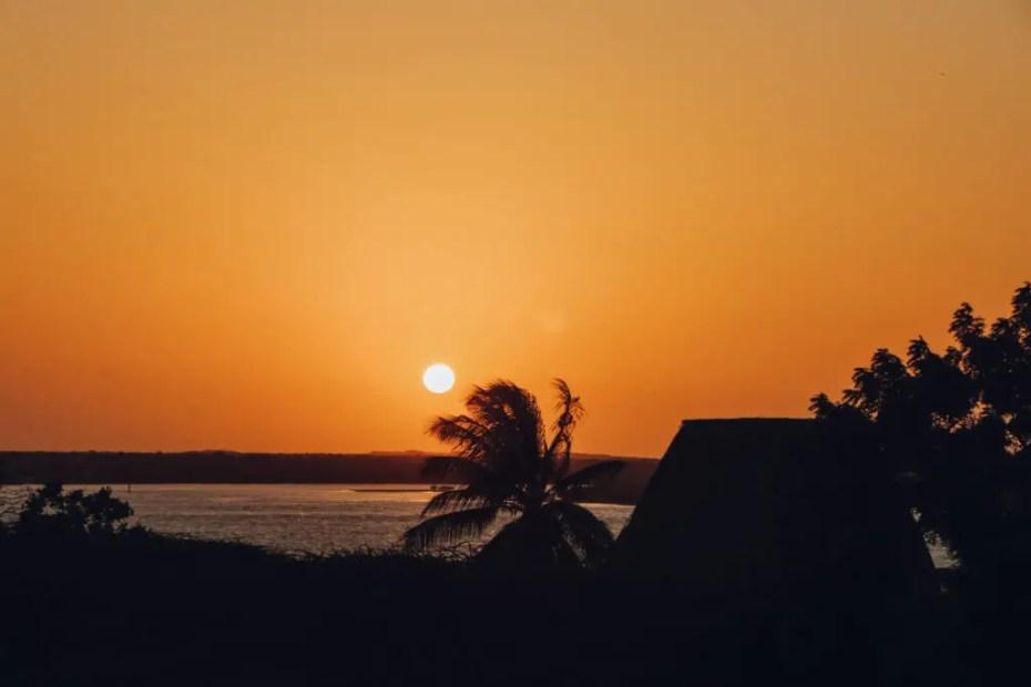 Sunrise in Lamu
