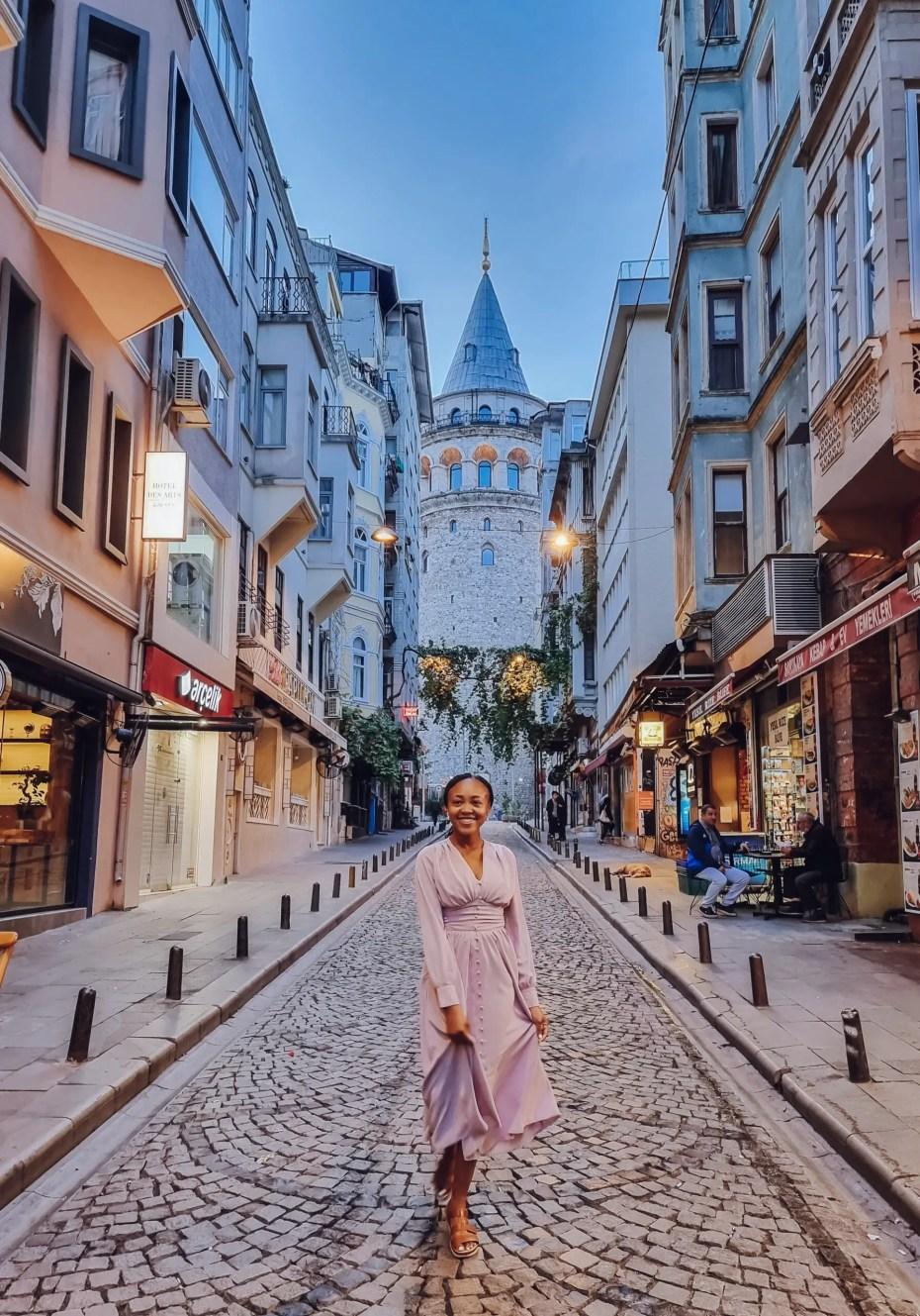 Galata Tower Istanbul views