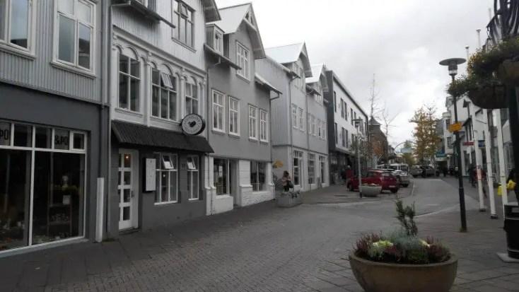 Laugavegur, o zi in Reykjavik