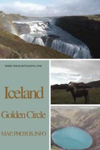 Iceland Golden Circle Map