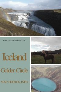 Iceland Golden Circle Map