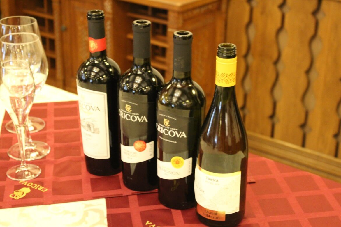 Wine tasting in Moldova