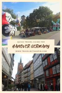 quick travel guide for hanover germany