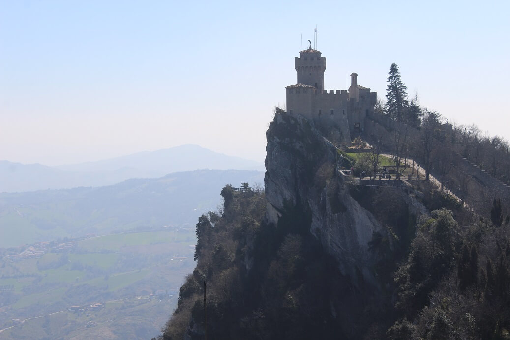 The second tower of San Marino, Cesta