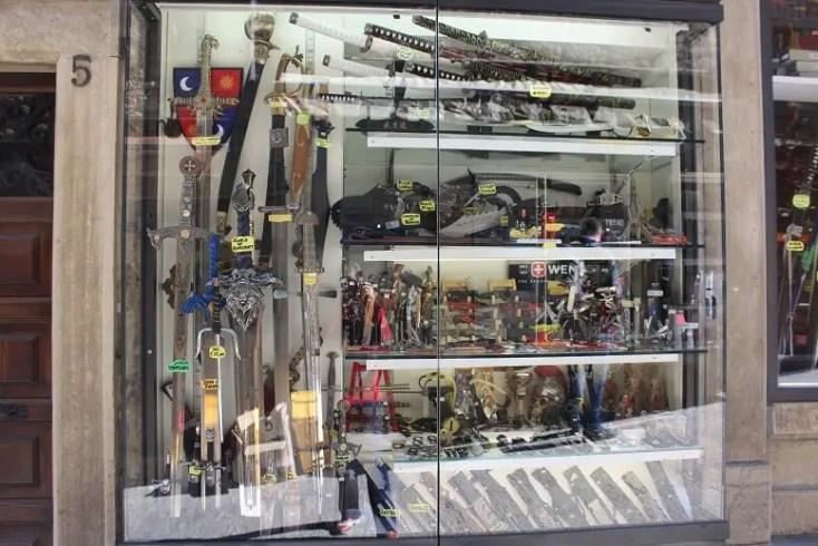 Shop in San Marino, a tax heaven