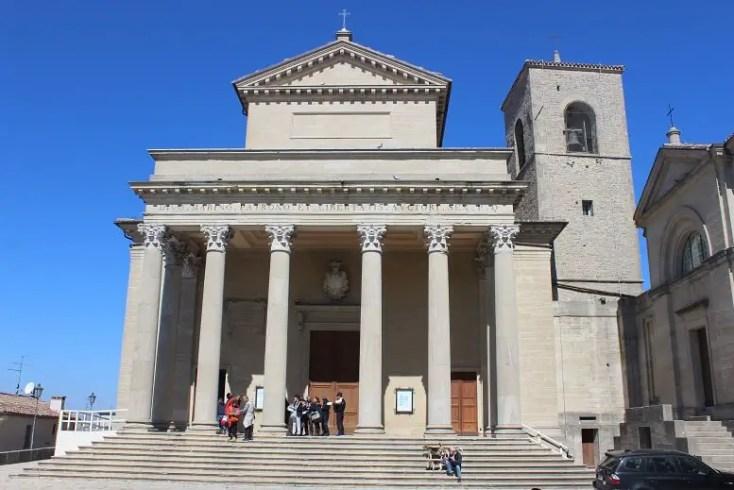 The Basilica of San Marino