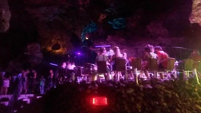 Disco Ayala, a club in a cave