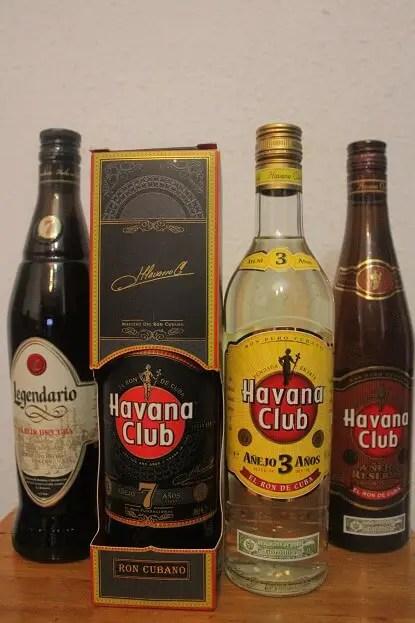 Rum Havana Club suveniruri