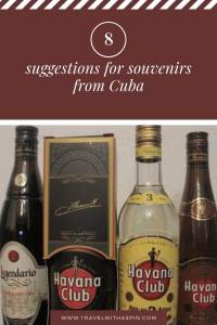 souvenirs suggestions Cuba