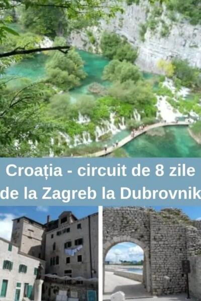 Croația circuit de 8 zile de la Zagreb la Dubrovnik