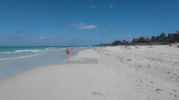 Varadero public beach