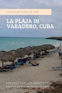 La plaja in Varadero Cuba