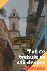 Ghid de calatorie Havana: Cum te pregatesti pentru o excursie in capitala Cubei