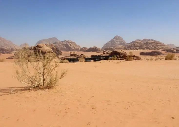 Camp in Wadi Rum, Jordan