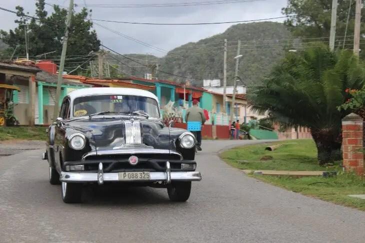 Taxi in Vinales
