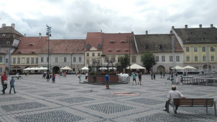 The Big Square, Sibiu, 1st of December