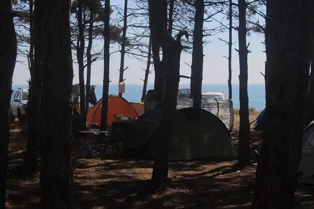 camping ezerets