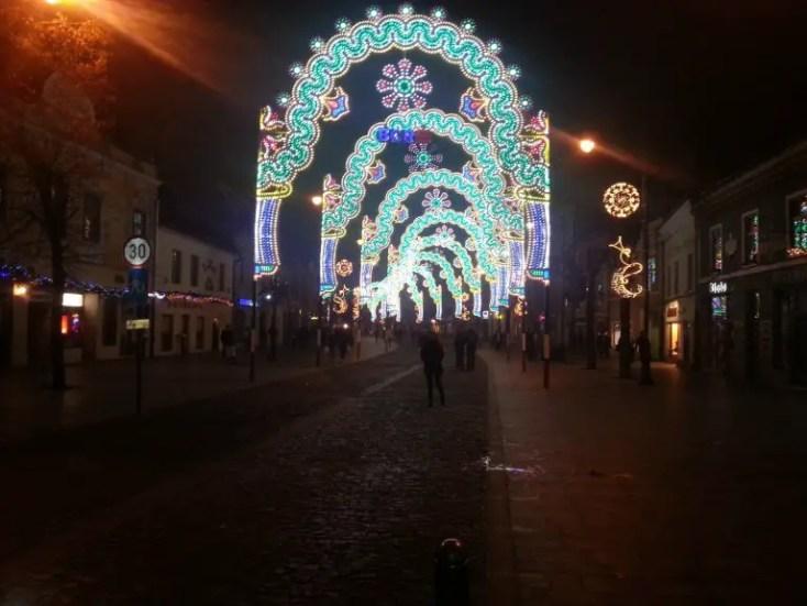 Luminițe de Crăciun, Sibiu, 1 decembrie