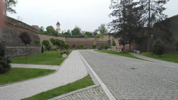 The citadelle from Alba-Iulia, Romania