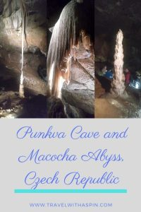 macocha abyss and punkva cave czech republic
