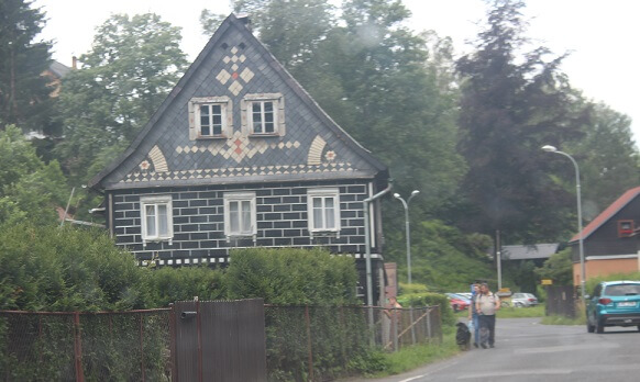 Stylish house on the way to Bohemian Switzerland
