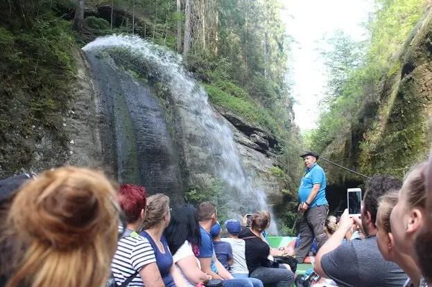 waterfall edmund gorge