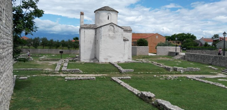 The church of Holy Cross, Croatia