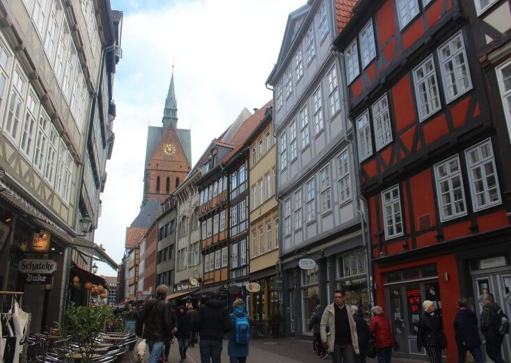 The Old City Center, Hanover, Germany