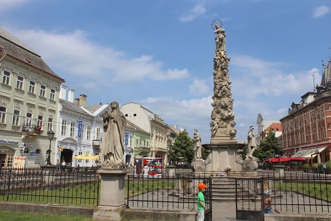 The Plague Column in Kosice
